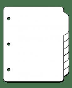 Blank Tabs